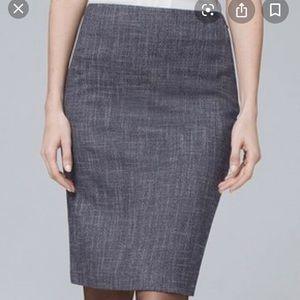 WHBM skirt with fun and flirty kick, sz 10